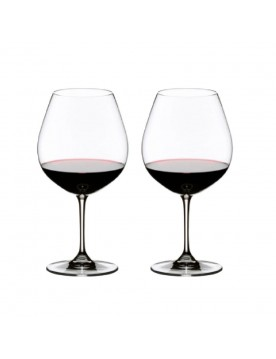 Vinum Pinot Noir (Burgundy Red) Glass by Riedel (8 pack)