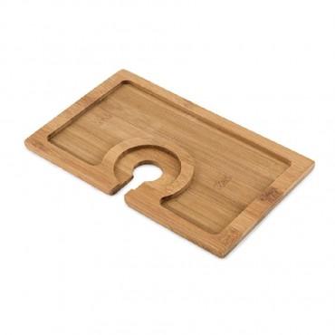 Buffet Bamboo Appetizer Plate by True