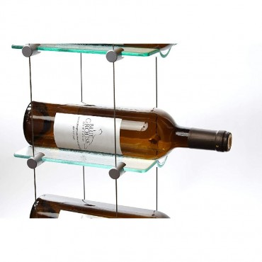 Floating Wine Storage Rack 12 Bottle Capacity (10ft Height) by Blue Grouse Wine Cellars