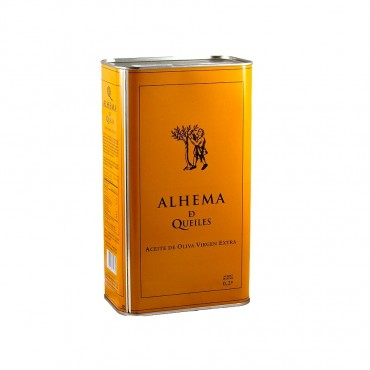 Organic Extra Virgin Olive Oil by Alhema de Queiles Arbequina (500ml)