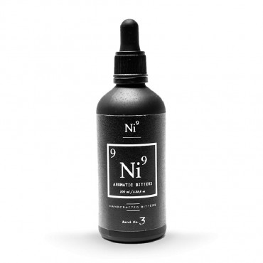 Ni9 Aromatic Cocktail Bitters 100mL by Nickel9