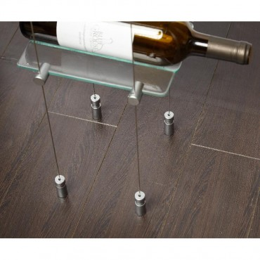 Floating Wine Storage Rack 6 Bottle Capacity (10ft Height) by Blue Grouse Wine Cellars