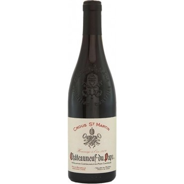 Chateauneuf du Pape Hommage A L'An 1880 by Crous St. Martin 2019