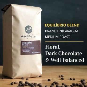 Equilibrio Brazilian Nicaraguan Coffee (1/2lb) Medium Roast by Portfolio