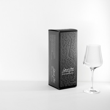 Mouth-Blown Austrian Universal Crystal Wine Glass Gold Edition (1 Glass Gift Box) by Gabriel Glas