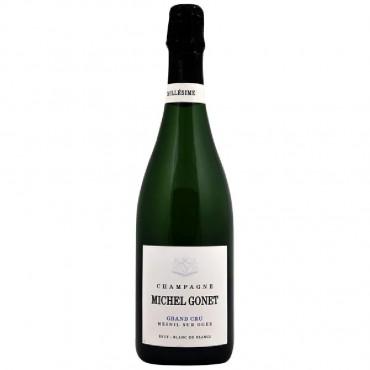 Champagne Grand Cru Le Mesnil-sur-Oger Blanc de Blancs Extra Brut by Michel Gonet 2012