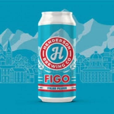 Figo Italian Pilsner (473ml Can) 24 Pack by Henderson Brewing Co.