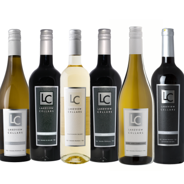 Top Wines Mixed Case by Lakeview Cellars 2016-2019 (SAVE $75.50/CASE)