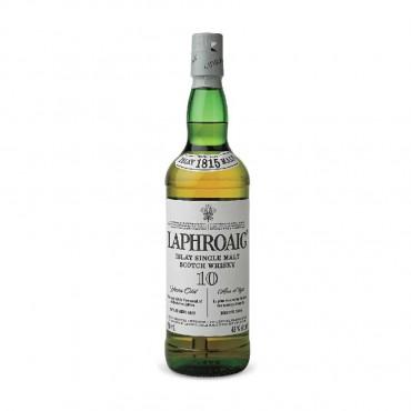 Laphroaig 10 Year Old Islay Single Malt Scotch Whisky 750mL (SAVE $5/BOTTLE)