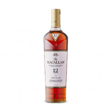 The Macallan 12-Year-Old Sherry Oak Cask 750mL