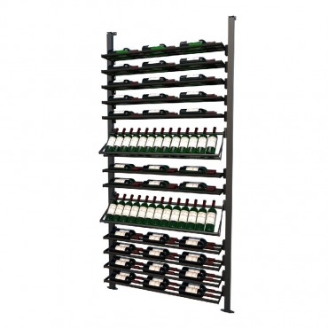 Frontenac Modular Wine Storage Rack 92 Bottle Capacity (Easy Self Assembly) by La Vieille Garde