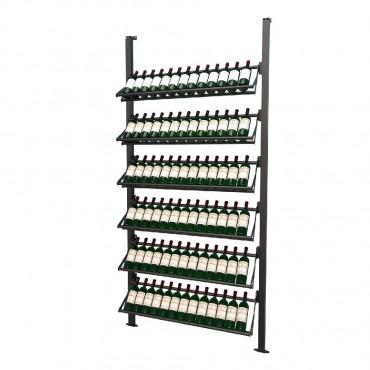 Frontenac Modular Wine Storage Rack 78 Bottle Capacity (Easy Self Assembly) by La Vieille Garde