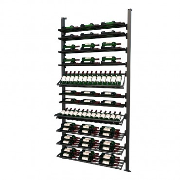 Frontenac Modular Wine Storage Rack 113 Bottle Capacity (Easy Self Assembly) by La Vieille Garde