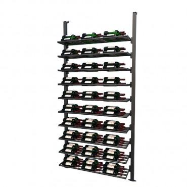 Frontenac Modular Wine Storage Rack 150 Bottle Capacity (Easy Self Assembly) by La Vieille Garde