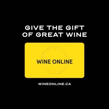 WineOnline.ca Gift Card