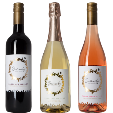 Serenity Wines Mixed Case 2017-2019 by Lakeview Cellars (SAVE $47.50/CASE)
