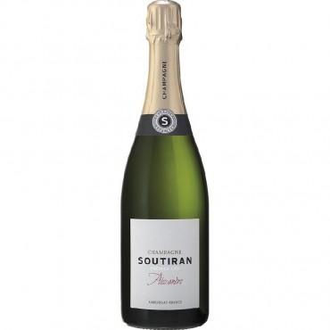 Champagne Cuvee Alexandre 1er Cru by Soutiran NV