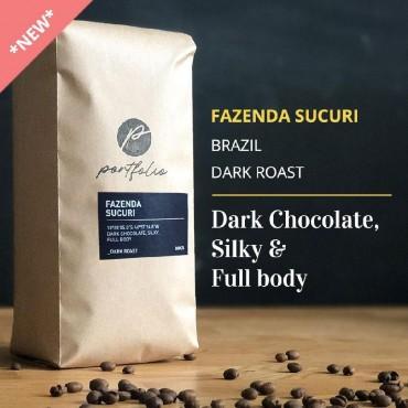Fazenda Sucuri Single-Origin Brazilian coffee (1lb) Dark Roast by Portfolio
