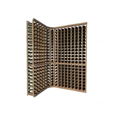 Classic Wood Wine Storage Rack 320 Bottle Capacity (Easy Self Assembly) by La Vieille Garde
