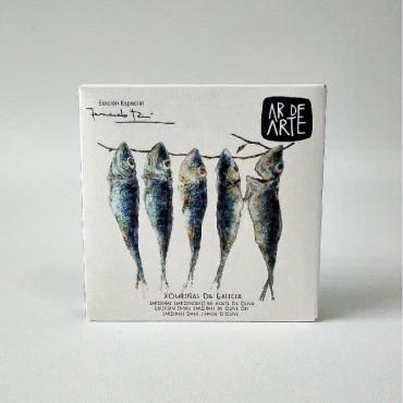 Ar De Arte Small Sardines in Olive Oil (110g) Fernando Rei Special Edition