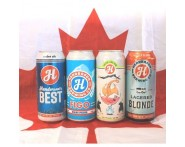 Canada Day Exclusive Henderson Brewing Co. Mixed Beer 24 Pack (473ml Cans)   Wine Online