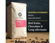 Fazenda Eldorado Single-Origin Brazilian Coffee (1/2lb) Medium Roast by Portfolio | Wine Online