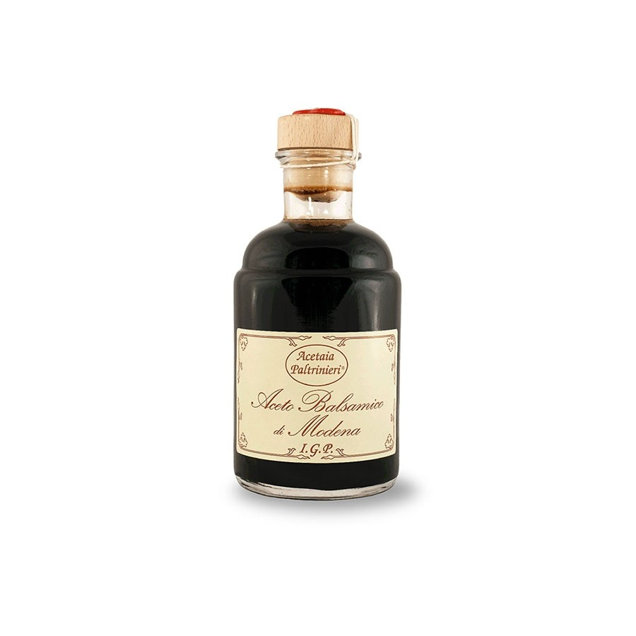 Balsamic Vinegar Syrup of Modena Aged 3 Years Wax Cork Seal 250ml by Acetaia Paltrinieri (Italy)