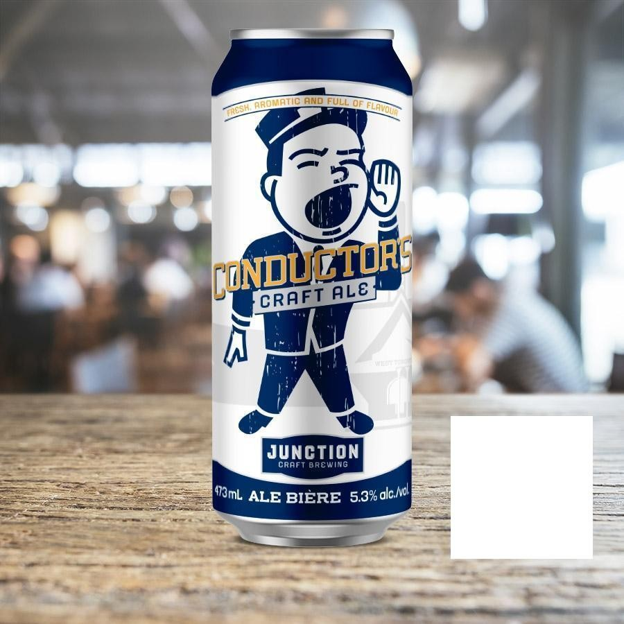 Conductor's Craft Ale Beer by Junction Craft Brewing