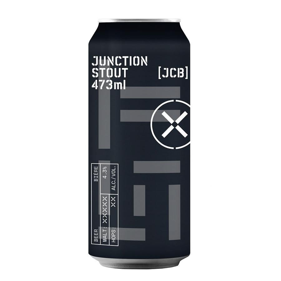 Junction Stout Beer by Junction Craft Brewing