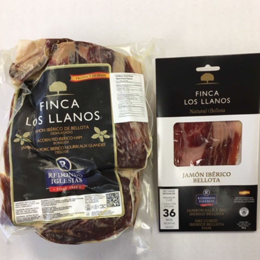 Acorn-fed Jamón Ibérico de Bellota Ham 60g Dry Aged 36 Months - Sliced Pack