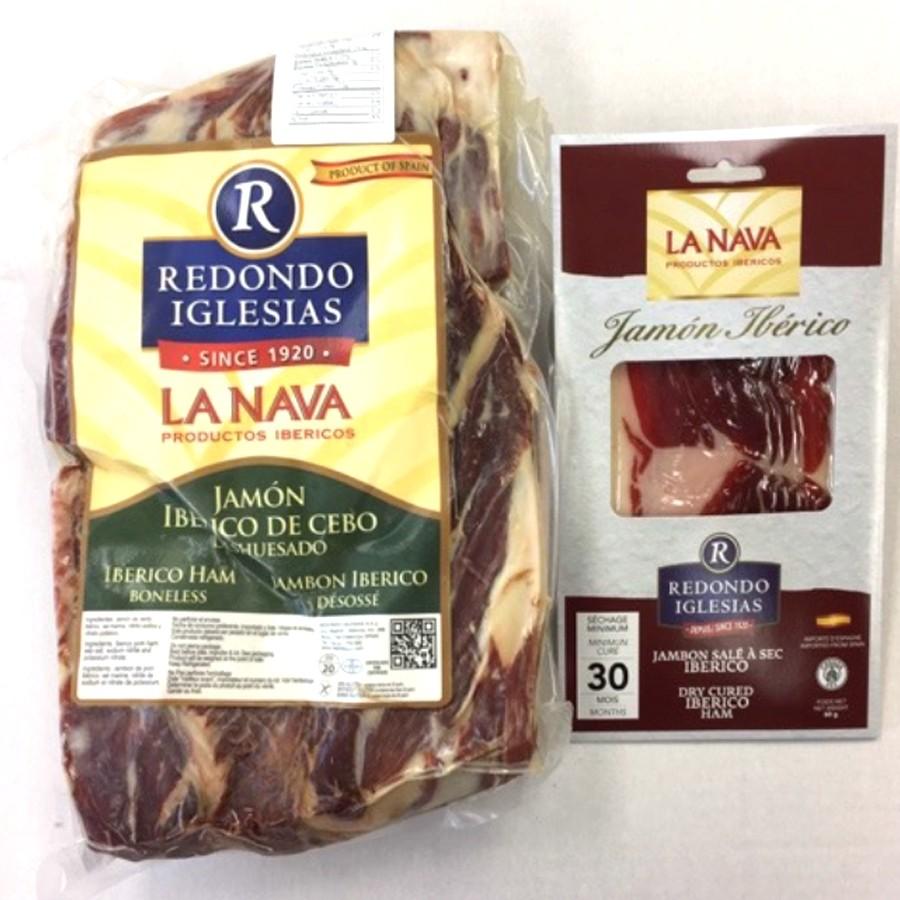 Acorn-fed Jamón Ibérico Ham 60g Dry Aged 30 Months - Sliced Pack