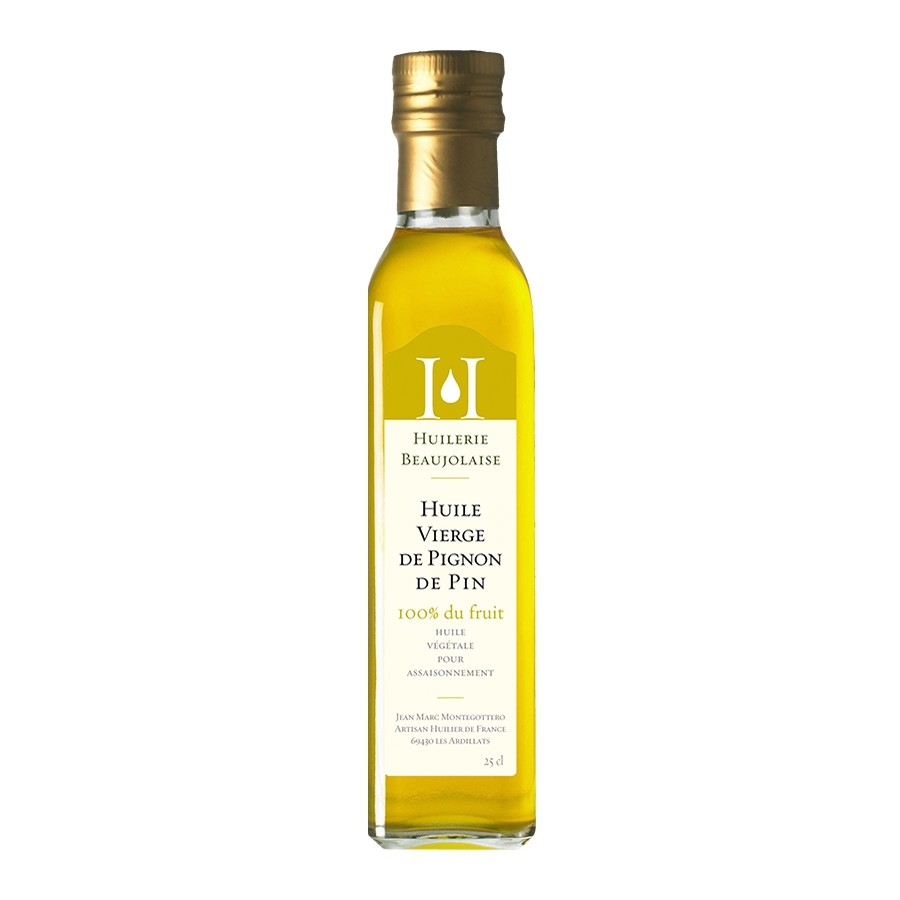 Virgin Pine Nut Oil by Huilerie Beaujolaise