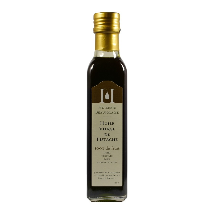 Virgin Pistachio Oil by Huilerie Beaujolaise