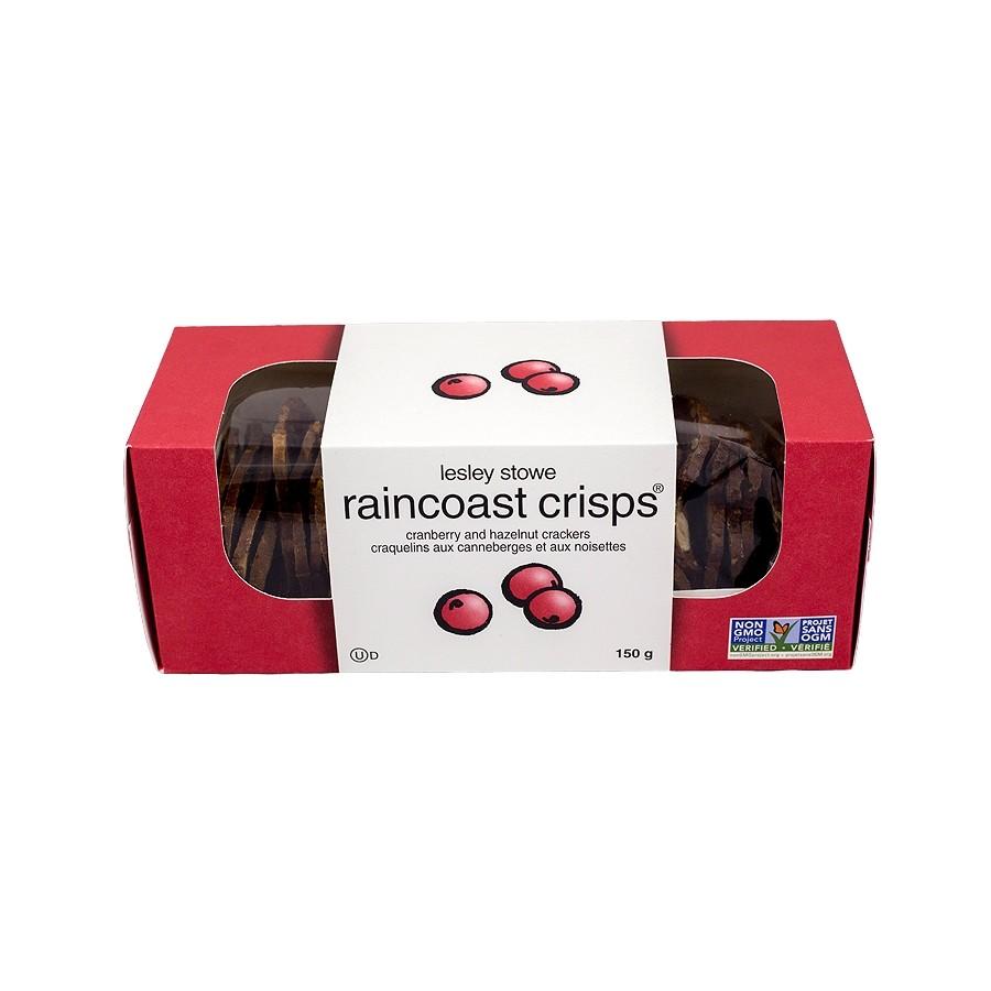 Cranberry and Hazelnut Raincoast Crisps by Lesley Stowe