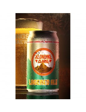 Klondike Clarke Lagered Ale Beer (355 ml Cans) 24 Pack by Longslice Brewery