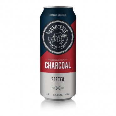 Charcoal Porter Craft Beer by Innocente Brewing Company