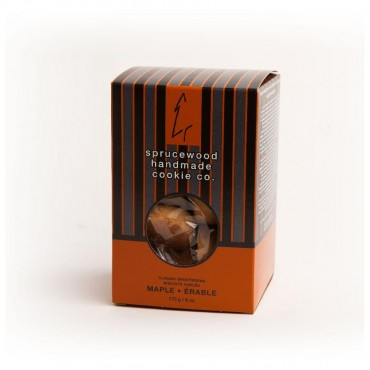 Canadian Classic Maple Shortbread Biscuits by Sprucewood Handmade Cookie Co.