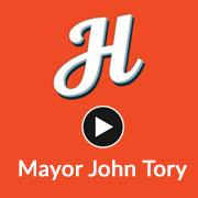 Mayor Tory talks about Henderson and the NBA playoffs
