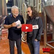 Rush Canadian Golden Ale featuring Geddy Lee & Alex Lifeson