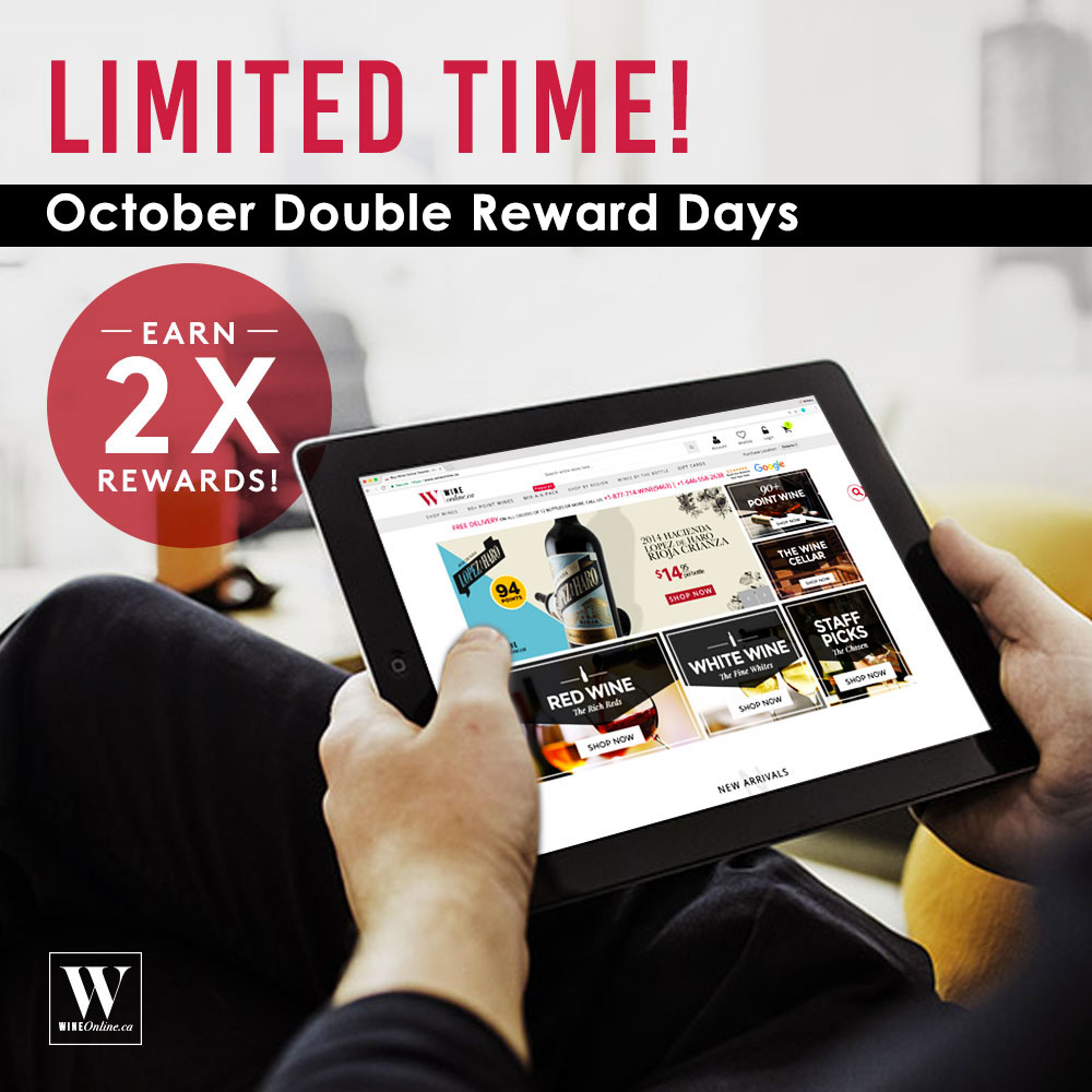 2X REWARDS - Starts June 1st 2017