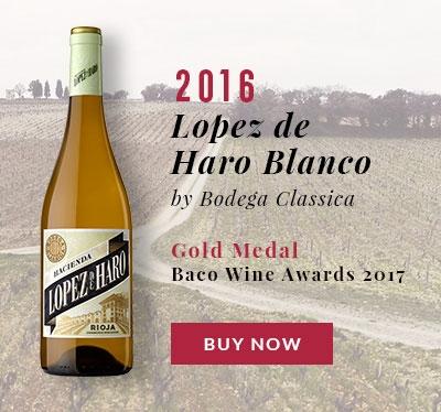 Hacienda Lopez de Haro Rioja Blanco by Bodega Classica 2016