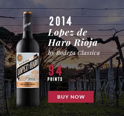 Hacienda Lopez de Haro Rioja Crianza by Bodega Classica 2014