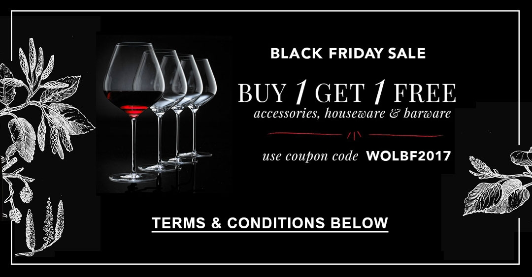 BLACK FRIDAY BUY 1 GET 1 FREE AT WINEONLINE.CA