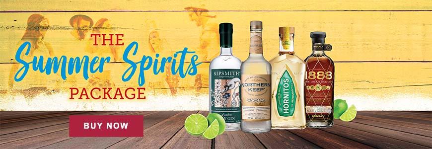 The Summer Spirits Package (750mL bottles)
