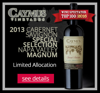 CABERNET SAUVIGNON SPECIAL SELECTION NAPA VALLEY MAGNUM BY CAYMUS VINEYARDS 2013