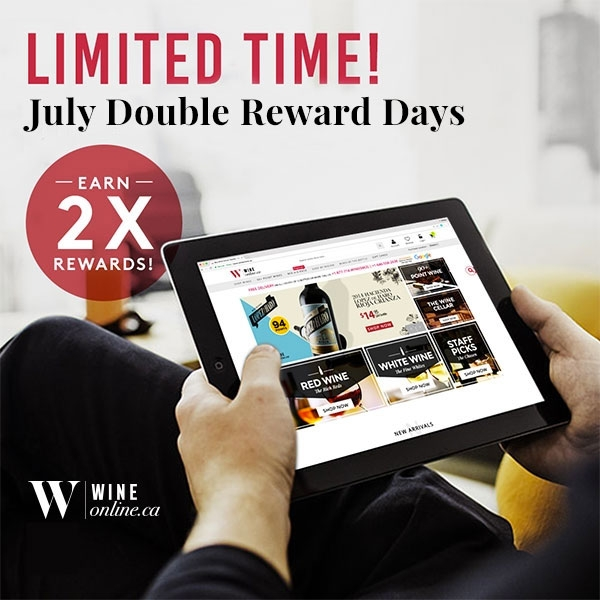 July - Double Rewards Promotion